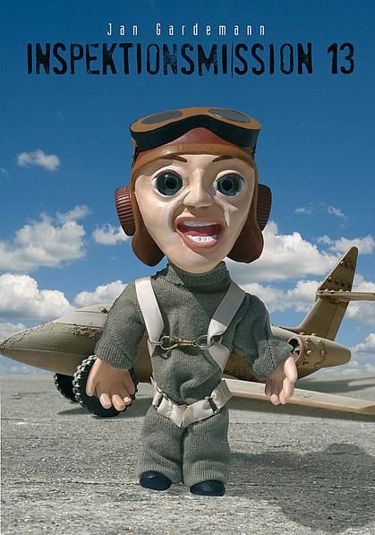Plastilin, Knetfigur, Pilot, Flugzeug, Flughafen, Mann
