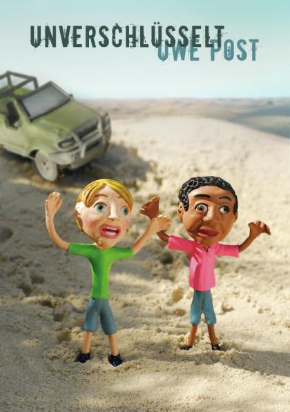 Figurine, Figurinen, Knetmännchen, Wüste, Angst, Afrika, Jeep,