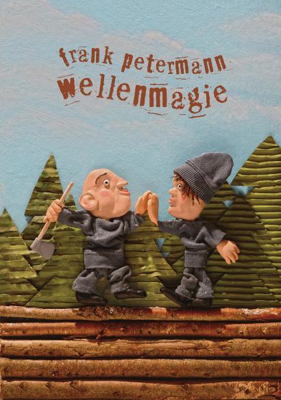 Wellenmagie, Waldarbeiter, Holzfäller, Straßenbau, Wald, Axt, Arbeiter, Strafgefangene, Baumfällung, High Five, Baumstämme, Holzstraße, Fichten, Lärchen, Tannen,