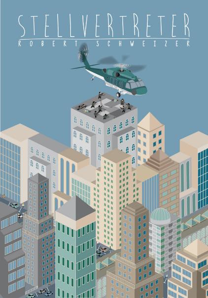Hochhäuser, Skyline, Skyscraper, Helicopter, Hubschrauber,
