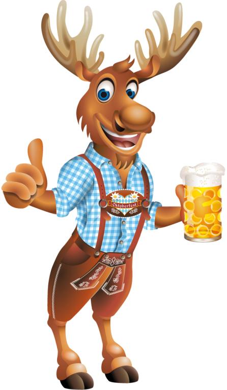Oktoberfest, Logo Oktoberfest, Maskottchen Vektor, Maskottchen Clipart, Mascot vector, Oktoberfest Maskottchen, Oktoberfest Logo, Octoberfeast, mascot, Bayern, Elch, Eddy, Maß Bier, Münchner Wiesn,