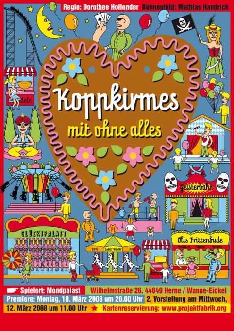 Vektor Lebkuchenherz, Vektorgrafik, fair poster,  carnival poster , fairground poster,  fun fair poster